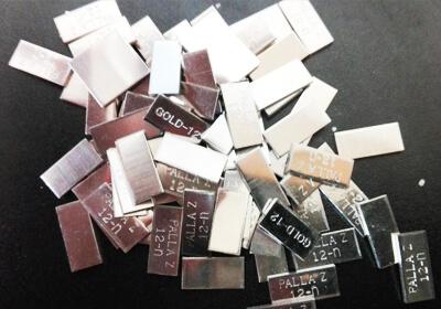 金銀パラジウム製品バラ1g